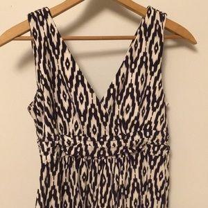 LOFT Ikat Petite Small Maxi Dress
